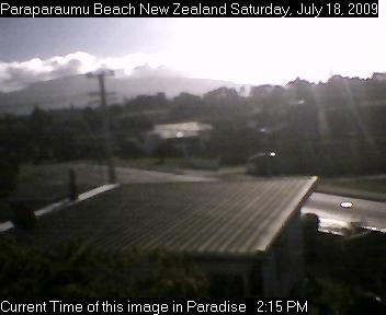 Live Images from Paraparaumu Beach New Zealand. Refreshes every 10 seconds. Thanks!